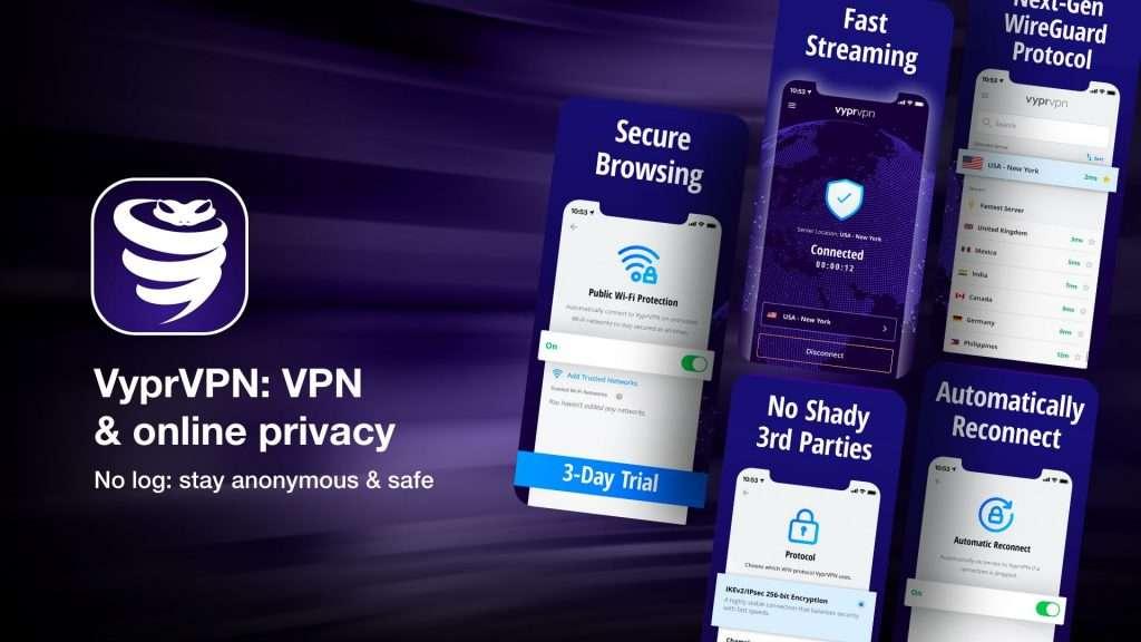 VyprVPN VPN & online privacy for iPhone