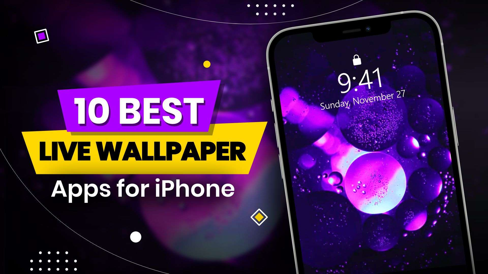best live wallpaper apps for iPhone