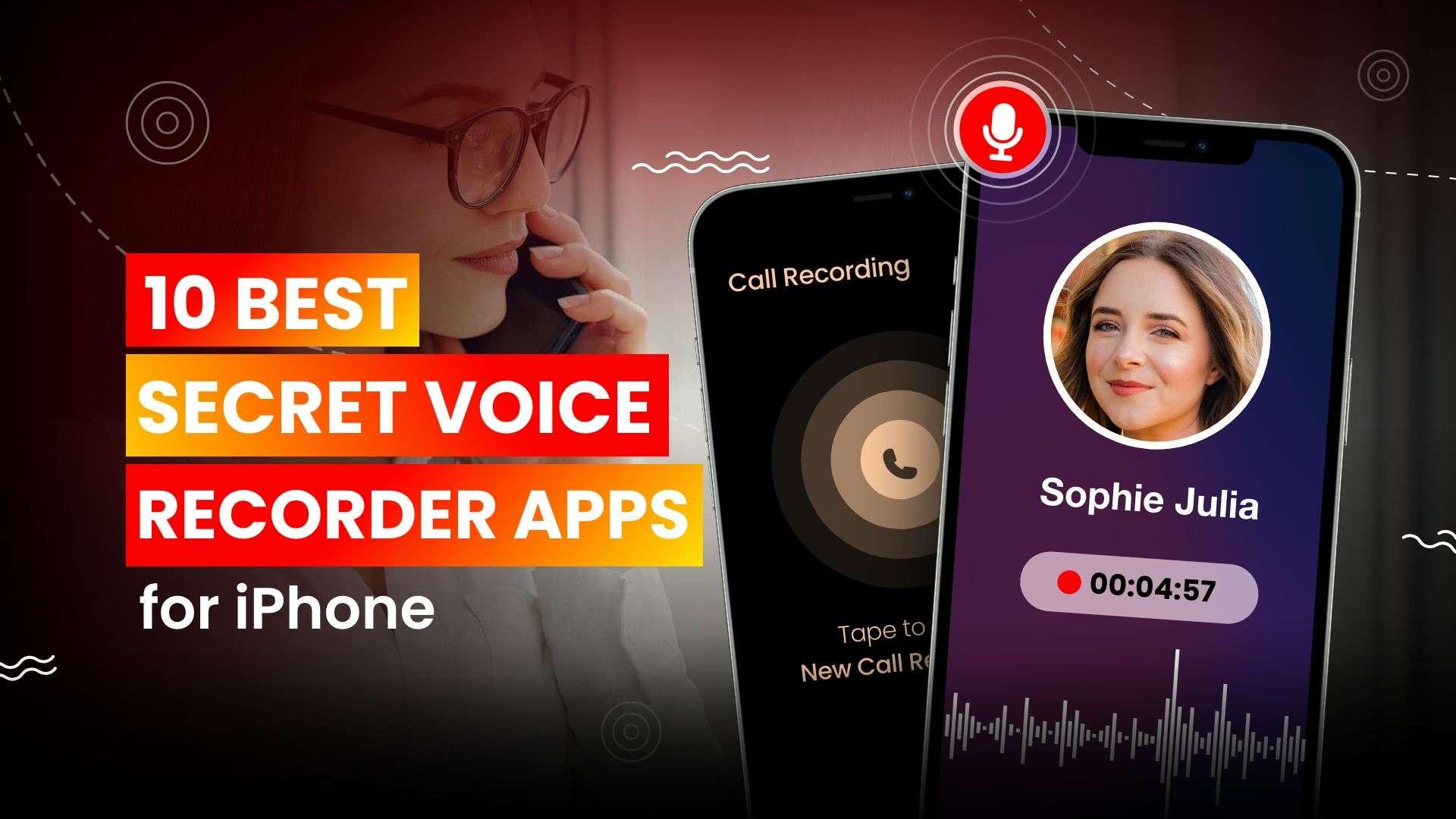 secret voice recorder app