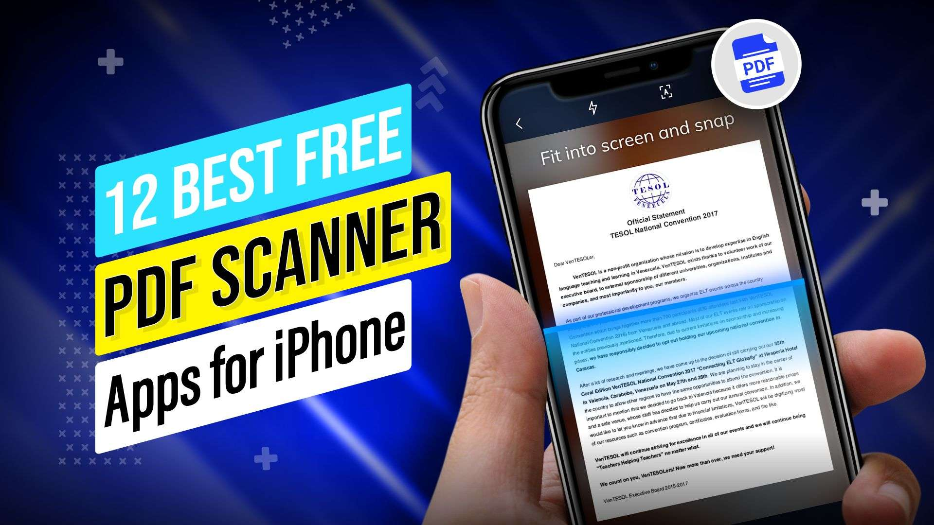 12 Best Free PDF Scanner Apps for iPhone