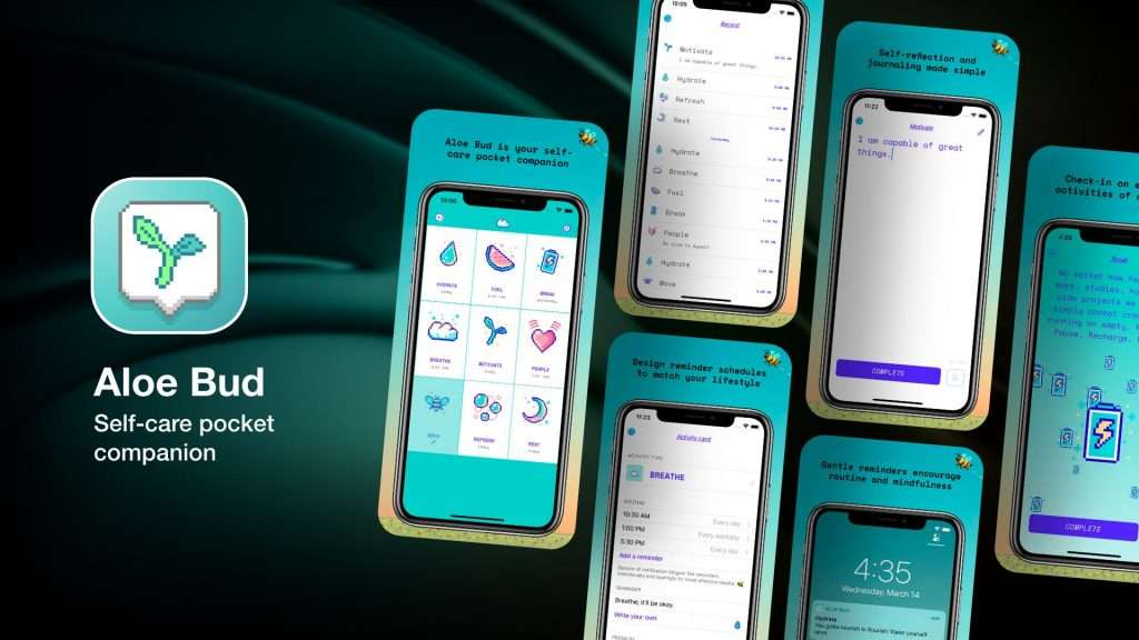 Aloe Bud app for iPhone