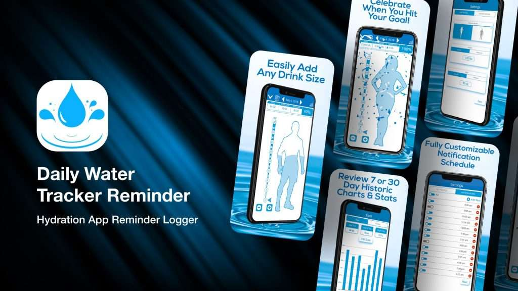 Daily Water Tracker Reminder for iPhone