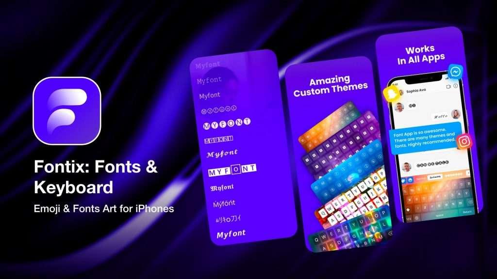 Fontix - Fonts & Keyboard for iPhone
