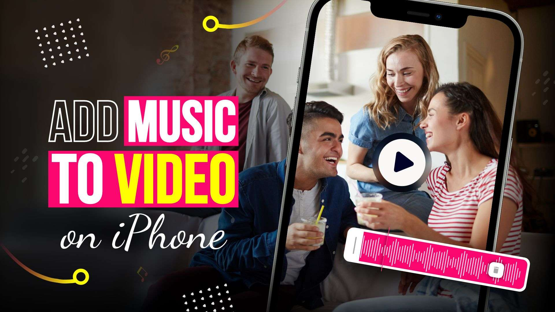 How to add music to a video on iPhone