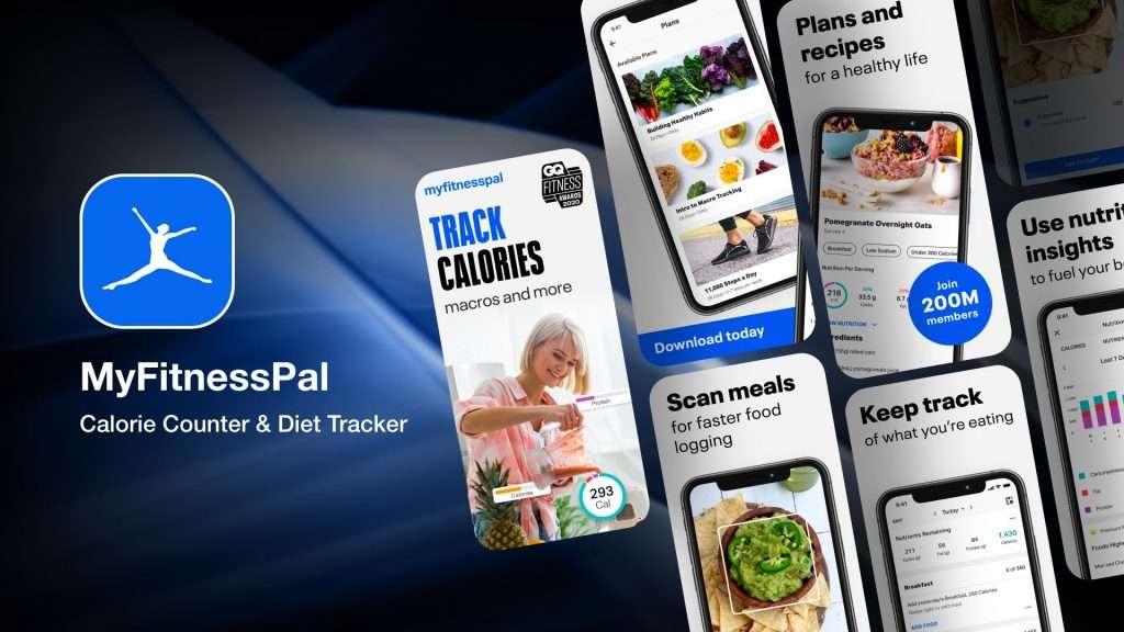 MyFitnessPal app for iPhone
