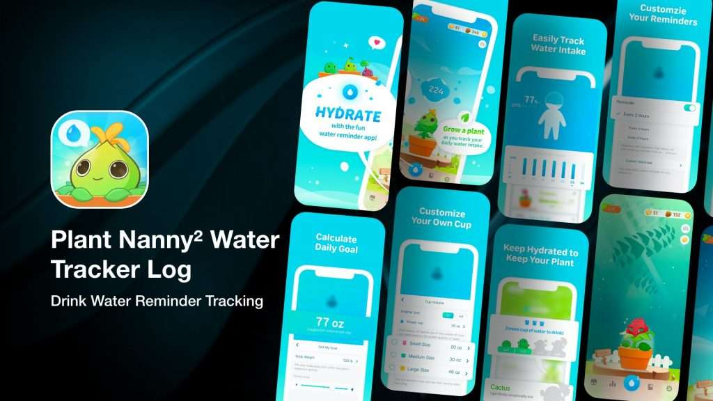 Plant Nanny² Water Tracker Log app for iPhone