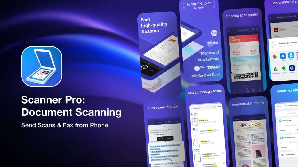 Scanner Pro Document Scanning