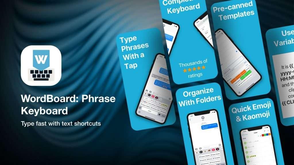 WordBoard PhraseKeyboard