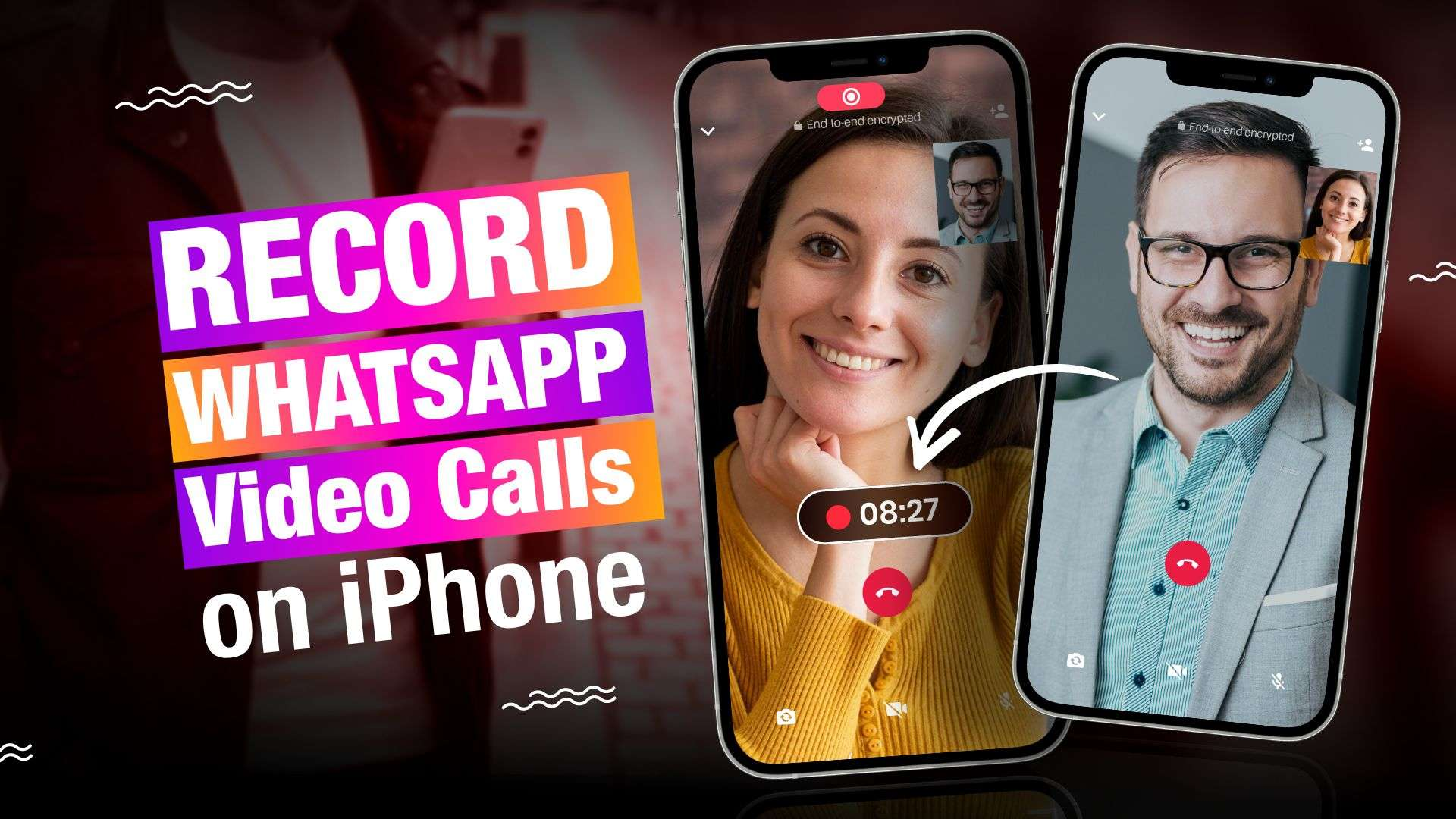 How to record WhatsApp video calls