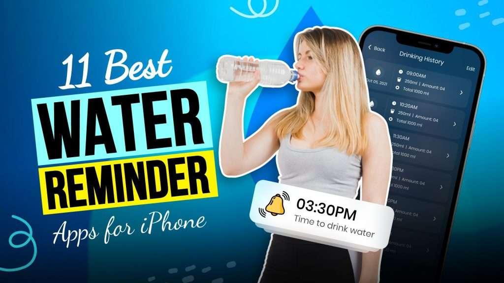 water reminder app iPhone